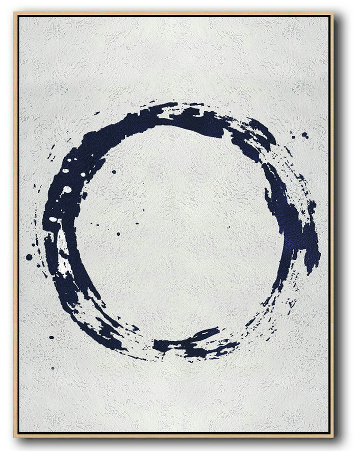 Buy Hand Painted Minimalist Painting Online,Big Canvas Painting #Q6G6